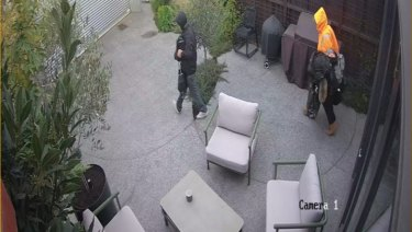 CCTV from the home.