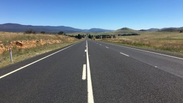 The ACT will match federal funding for the Monaro Highway.