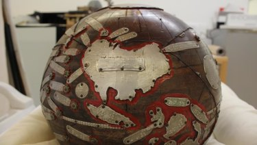 The original Tunley globe will be on display at a State Library of Queensland exhibition in December.