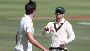Benched: David Warner will not share in the immediate spoils of the broadcast deal.