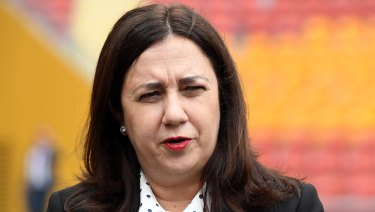 Queensland Premier Annastacia Palaszczuk says she will have more to say about a ban on property developer donations on Tuesday.