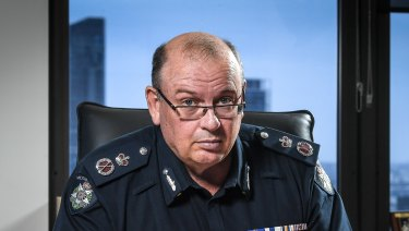 Police Chief Commissioner Graham Ashton.