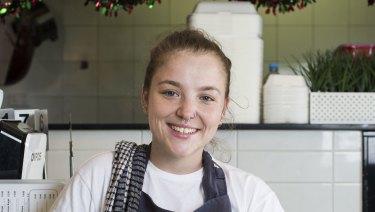 Trainee chef Jess Wyborn