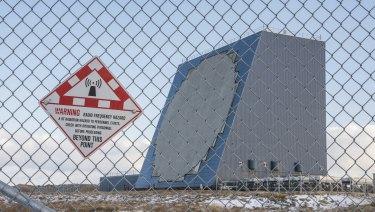 A US military radar located at Eareckson Air Station, Shemya, Alaska.