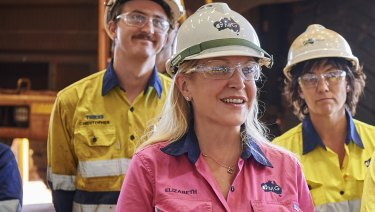 Fortescue chief executive officer Elizabeth Gaines.