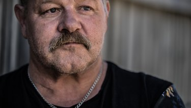 Former orderly at Frankston Hospital Trevor Williams says he was spat at, bitten and punched while working on the Aggression Management Team on night shifts.
