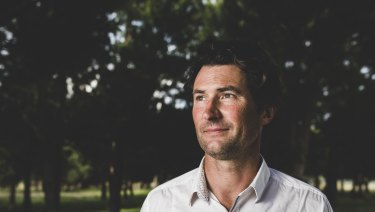 Canberra campaigner Damian De Marco, who welcomed a national memorial in the wake of the Royal Commission into child sexual abuse.