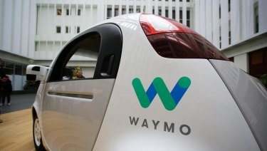 Google's Waymo driverless car is on the road in the United States.