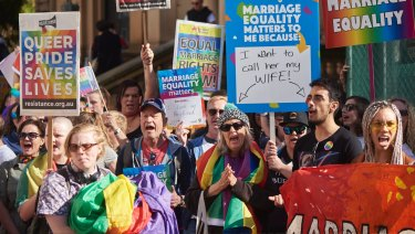 More than 70,000 Victorians enrolled during the same-sex marriage plebiscite postal vote period.