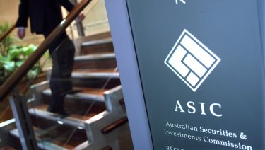 ASIC has come under scrutiny for its lack of action.