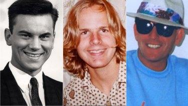 Suspicious deaths: Ross Warren, Scott Johnson and John Russell.