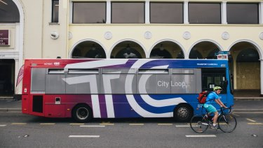 The bus service runs approximately every 10 minutes around Civic, Braddon and Acton.