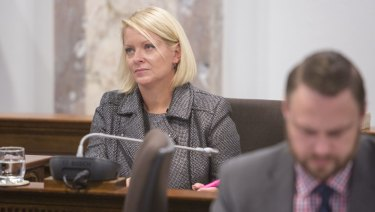 "Finance chair Krista Adams said she thought the 2018-19 budget was ""spectacular""."