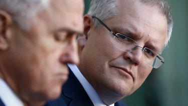 Treasurer Scott Morrison was the loudest opponent of a royal commission into the banks.