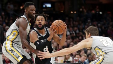 Patty Mills has been knocked out of NBA title contention.