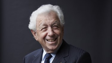 Selling the empire that made him billions: Sir Frank Lowy
