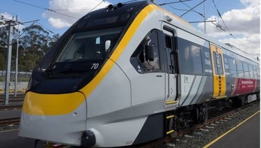 The first of the New Generation Rollingstock trains will finally be accepted.