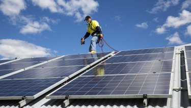 The growth in rooftop solar has helped offset power bills.