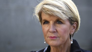 Australian Foreign Minister Julie Bishop