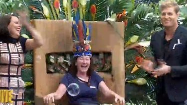 Fiona O'Loughlin crowned Queen of the Jungle on I'm A Celebrity Australia.