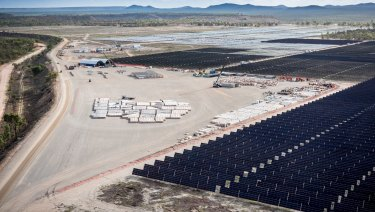 Genex Power's Kidston pumped hydro and solar generation project is located near Townsville, QLD.