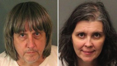 David Allen Turpin and Louise Anna Turpin were charged after their children were found in captivity in California.