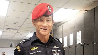 Former Thai Navy Seal Sgt Saman Guana died during the rescue operation.