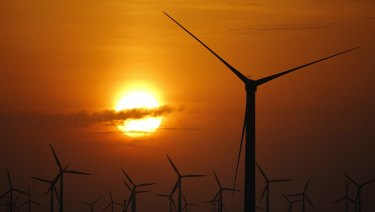 Wind farm critics complained about noise and flickering shadows.