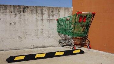 A trolley.