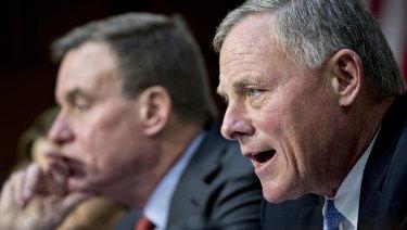 Senator Richard Burr, a Republican, chairman of the Senate Intelligence Committee