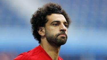 Egypt's Mohamed Salah.