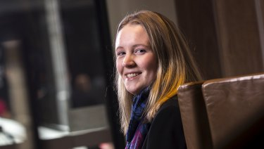 Kate Campbell, 20, is taking control of her financial future