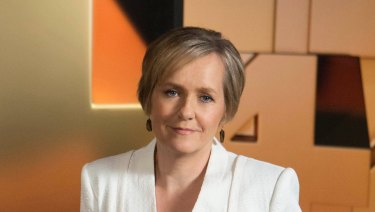 Four Corners host Sarah Ferguson.
