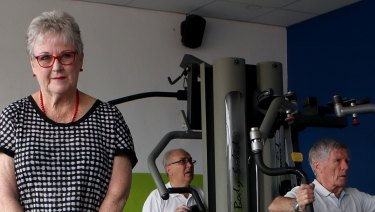 Liz Meakin has had two hips and a knee replaced but still goes to the gym, runs and plays tennis.