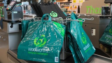 Logos are in this season. Woolworths is on trend.