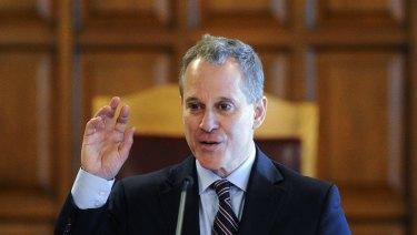 Former New York State Attorney Eric Schneiderman