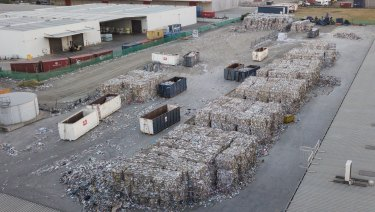 Australians each generate on average about 2.7 tonnes of waste a year.