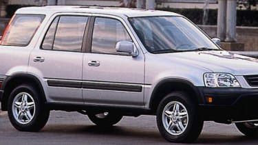 A Honda CRV, like this one, was seen following Mr Ezedyar before he was shot.