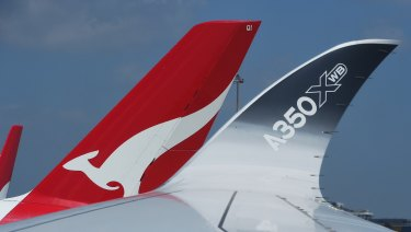 Qantas could choose the A350-900 for its planned ultra-long haul routes.