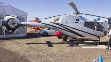 This Eurocopter EC120B Colibri was involved in a fatal crash at Hardy Reef in the Whitsundays.
