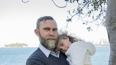 Matt McInnes has unsuccessfully been trying to opt his daughter Freja out from My Health Record.