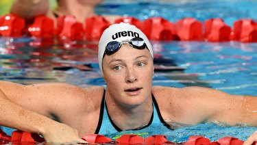 Success story: Cate Campbell is flying ahead of the Games but the jury is still out on the trial format.