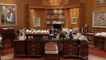 Ginsburg at work.