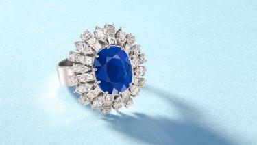 A rare gem: the Kashir Sapphire.