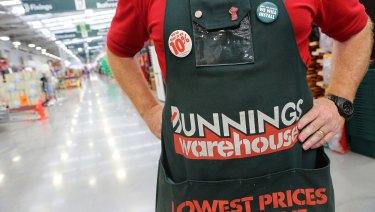 Bunnings owner Wesfarmers has written down $1 billion on its UK business.