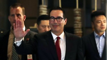 "US Treasury Secretary Steven Mnuchin has said the US ""firmly opposes"" proposals to single out digital companies."