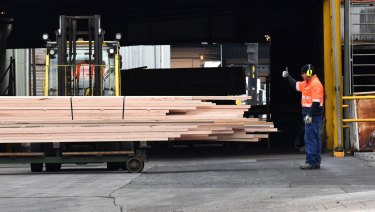 The Andrews government bailed out the Heyfield timber mill.