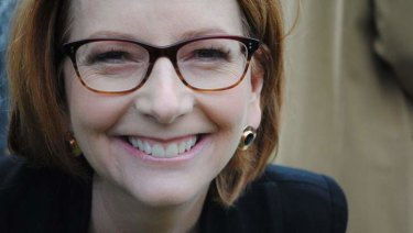 Julia Gillard says she should have talked more about her gender earlier in her prime ministership.