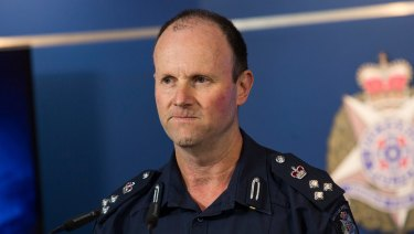 Assistant Commissioner Russell Barrett said it was a breach of the community's trust.