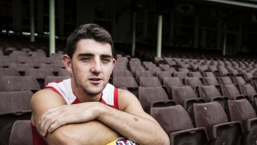 Colin O'Riordan, from Ireland, will make his AFL debut for the Swans on Sunday.
